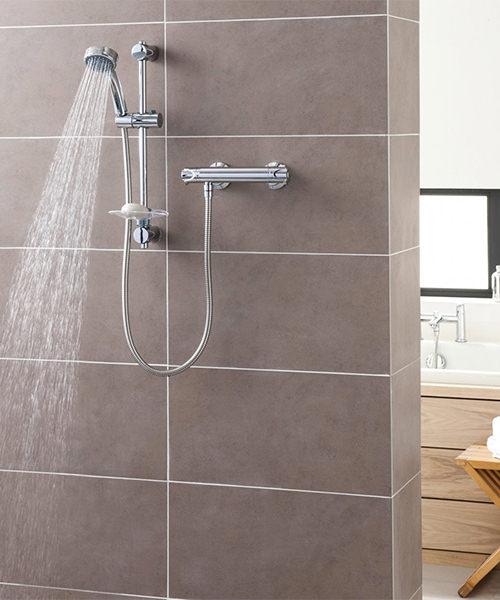 Alternate image of Triton Dene Eco Bar Mixer Shower Set