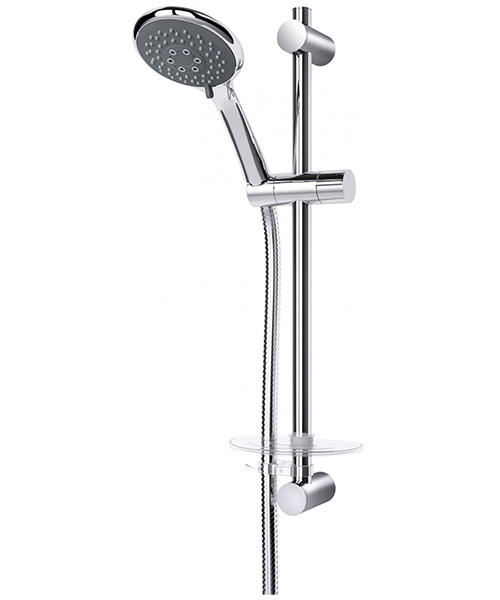 Additional image of Triton Eden Chrome Bar Mixer Shower And Kit