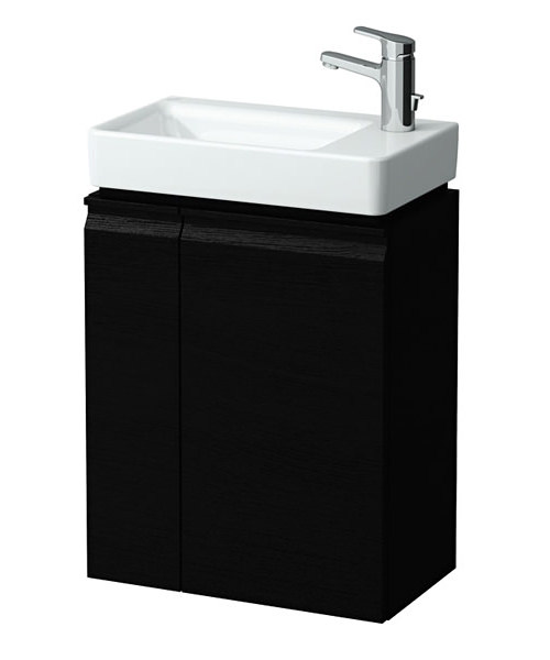 Laufen Pro 480mm Vanity Unit With Right Hinge Door Wenge