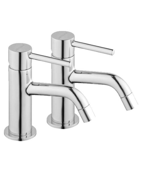 VitrA Minimax S Pair Of Bath Pillar Tap Chrome Finished