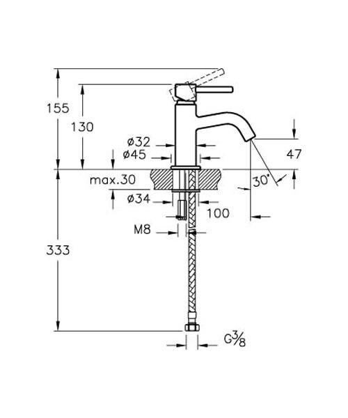Technical drawing 53665 / A42384VUK