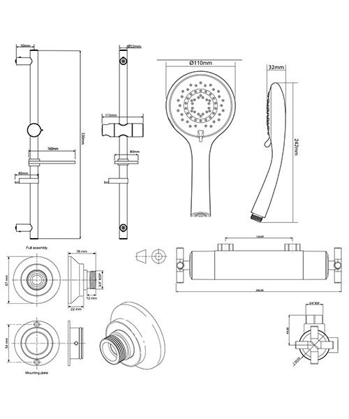 Technical drawing 50697 / UNKETHBM