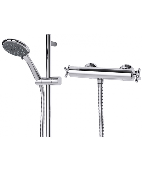 Additional image of Triton Kensey Bar Mixer Shower Valve With Kit