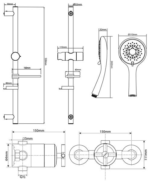 Technical drawing 50698 / UNKETHCM