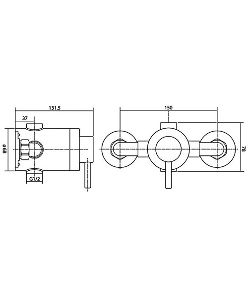 Technical drawing 14492 / ELITMV3EXSL