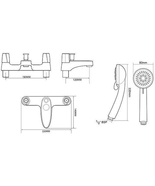 Technical drawing 50712 / UNEXBSM