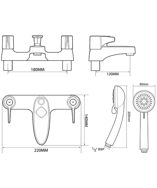Technical drawing 50714 / UNEXBSMINC
