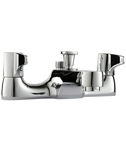 Additional image of Triton Exe Lever Bath Shower Mixer Tap With Handset And Hose