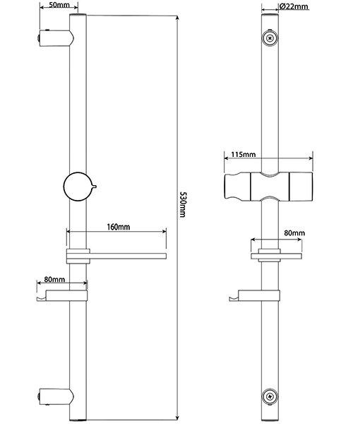 Technical drawing 50746 / TSKKIANCH