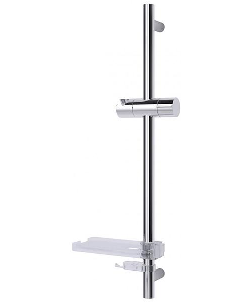 Triton Kian 530mm Slender Chrome Shower Riser Rail