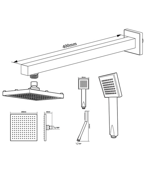 Technical drawing 50786 / TSPKDIVHHSQ