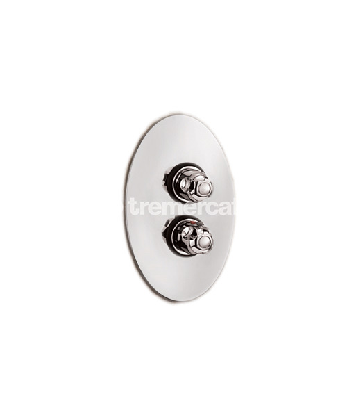 Tre Mercati Roma Concealed Thermostatic Shower Valve Antique Gold