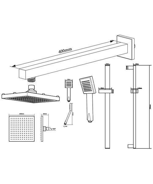Technical drawing 50788 / TSPKDIVRRSQ