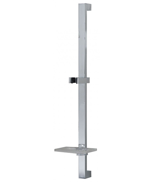Additional image of Triton Square Edge Dual Control Mixer Shower Combination Pack 4