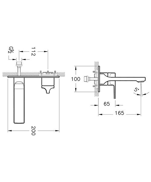 Technical drawing 53705 / A42486VUK