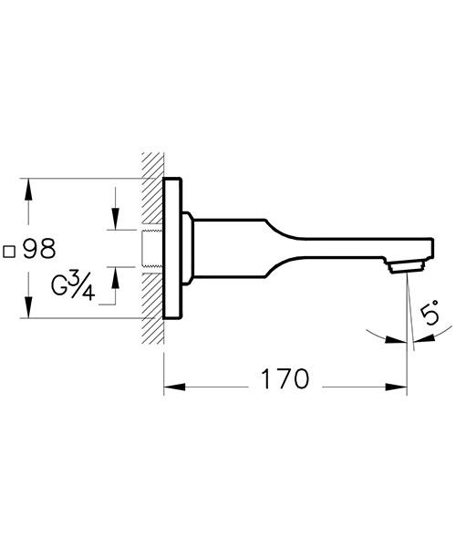 Technical drawing 53707 / A42491VUK