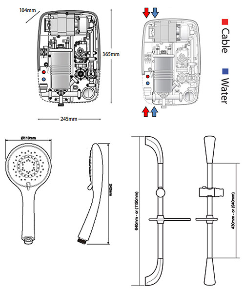 Technical drawing 11846 / SP8P08SI