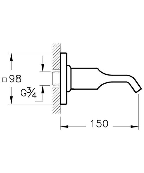 Technical drawing 53711 / A42492VUK