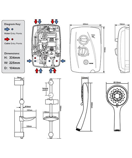 Technical drawing 11778 / SP8CHR1ZFF