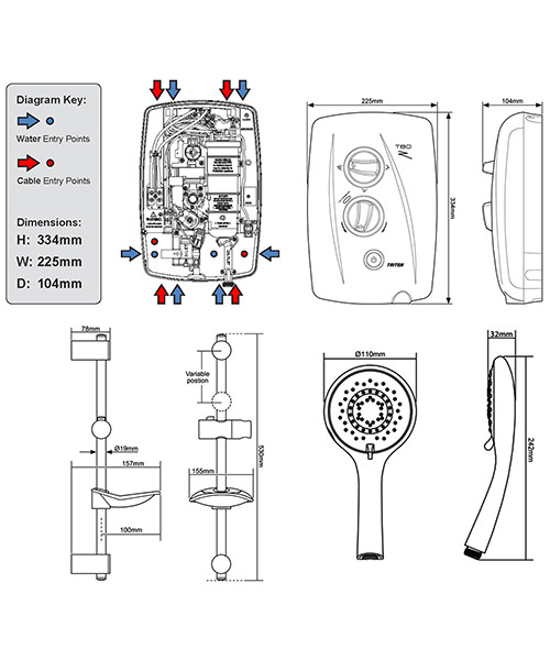 Technical drawing 14388 / ECO8008ZFF