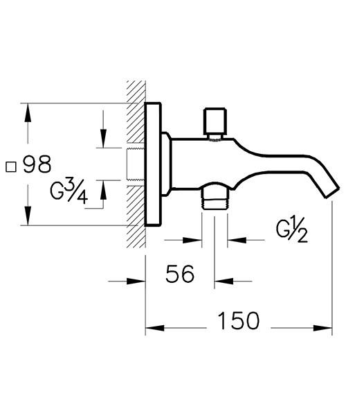 Technical drawing 53710 / A42490VUK