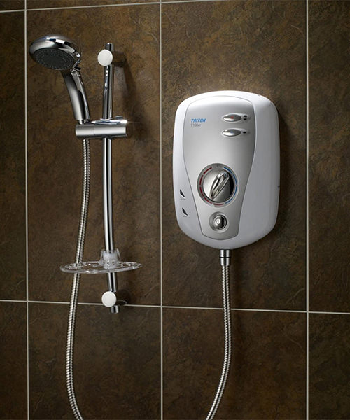Additional image of Triton T100xr Electric Shower 9.5 KW White-Chrome