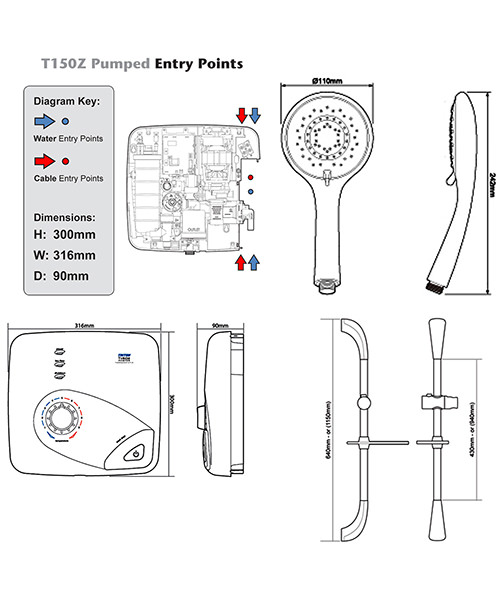 Technical drawing 11774 / SPSGPE08WC