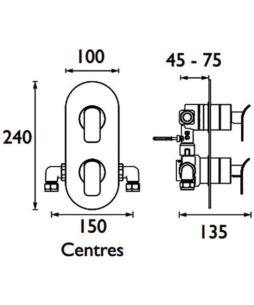Technical drawing 41420 / MALP SHCDIV CR