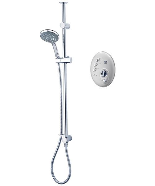 Triton T300si Wireless Electric Shower 9.5 KW Satin-Chrome