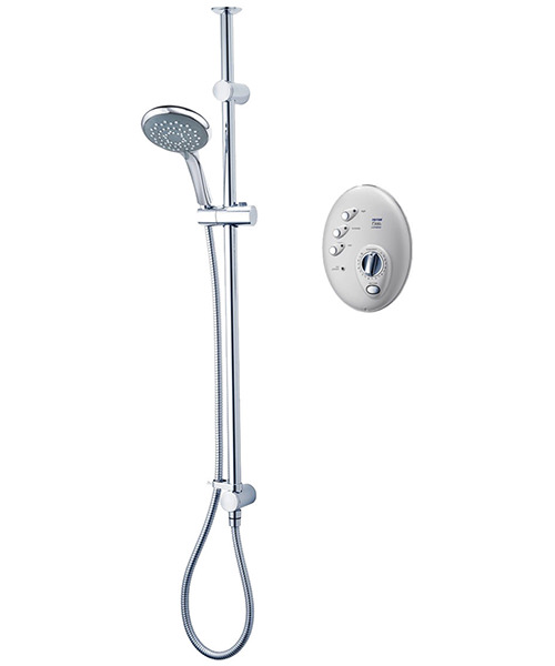 Triton T300si 10.5 KW Wireless Electric Shower Satin And Chrome