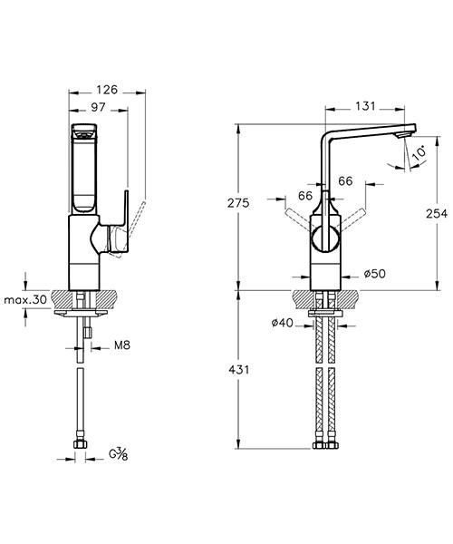 Technical drawing 53703 / A42468VUK