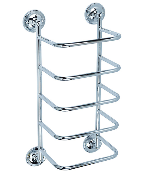 Bristan Chrome Towel Stacker