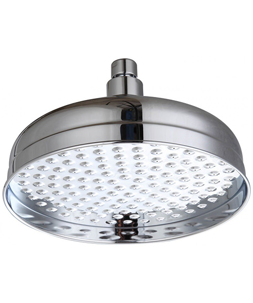 Triton Traditional 200mm Diameter Rose Fixed Shower Head