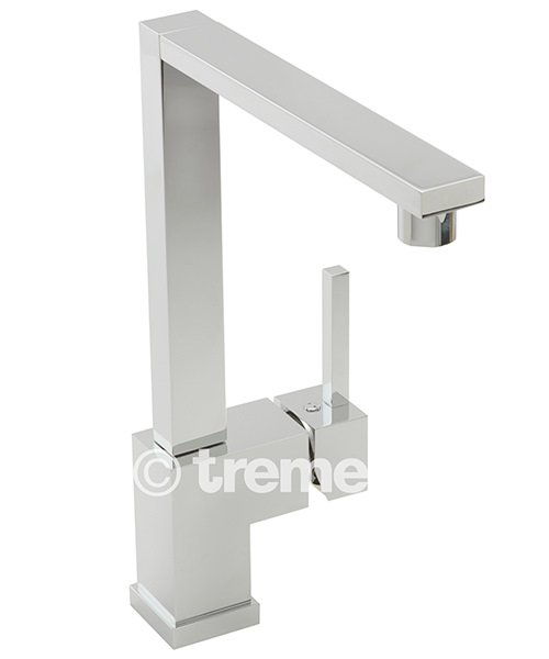 Tre Mercati Edge Mono Sink Mixer Tap Chrome