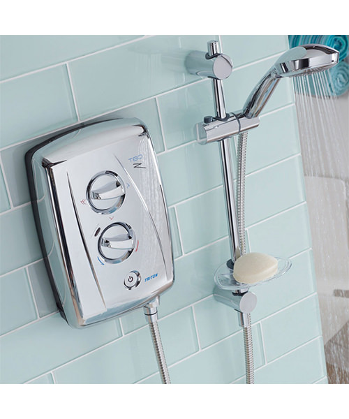 Alternate image of Triton T80Z Fast Fit Electric Shower 8.5 KW Chrome