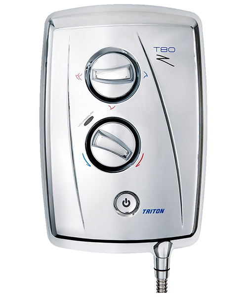 Additional image of Triton T80Z Fast Fit Electric Shower 9.5 KW Chrome
