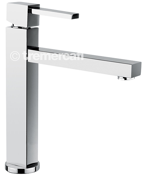 Tre Mercati Turn Me On Mono Sink Mixer Tap Chrome