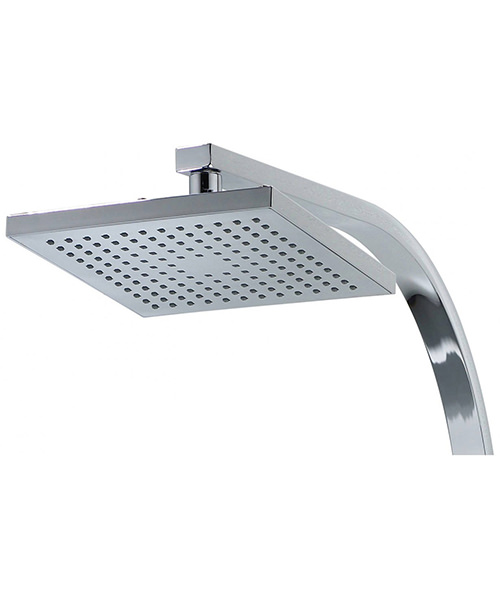 Additional image of Triton Tees Chrome Bar Mixer Shower With Diverter