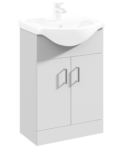 Lauren Delaware 550mm 2 Door Furniture Vanity Cabinet