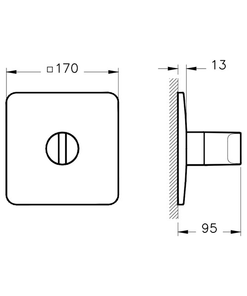 Technical drawing 53729 / A42292VUK