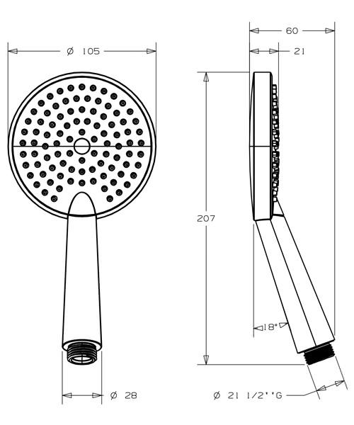 Technical drawing 49154 / SH630C