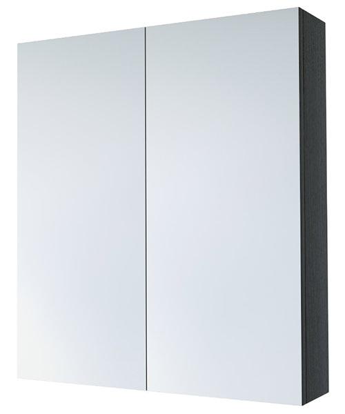 Alternate image of Saneux Austen 600mm 2 Door Mirror Cabinet