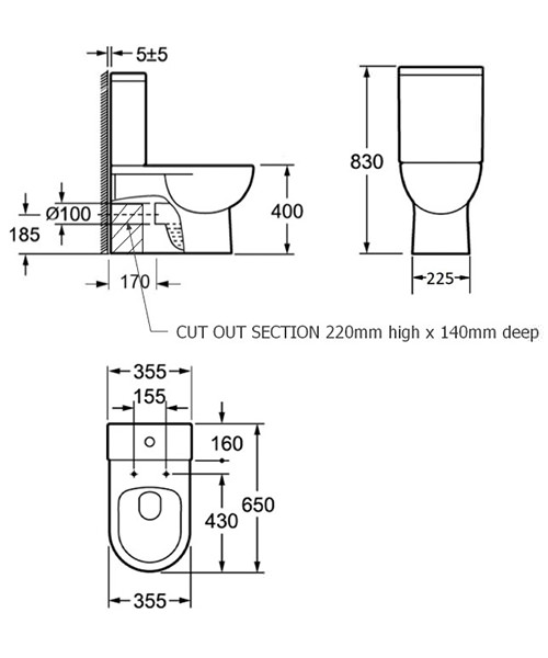 Technical drawing 54252 / 500701