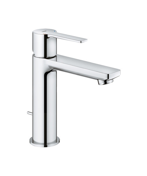 Grohe Lineare S-Size 1-2 Inch Basin Mixer Tap With Pop-Up Waste