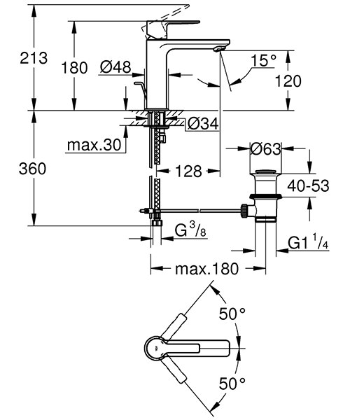 Technical drawing 54803 / 32114001