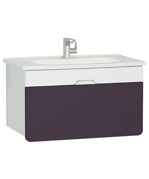 Vitra D Light Wall Hung Vanity Unit With Basin 58131