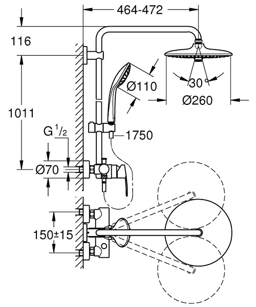 Technical drawing 54838 / 27473001