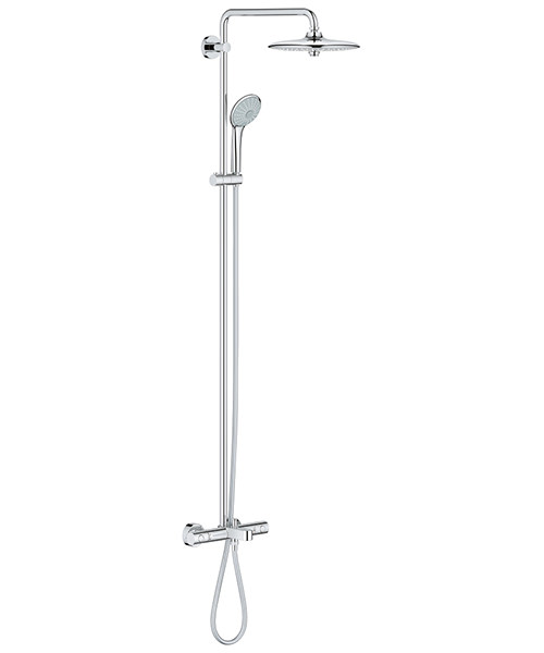 Grohe Euphoria 260 Shower System With Bath Thermostat Valve