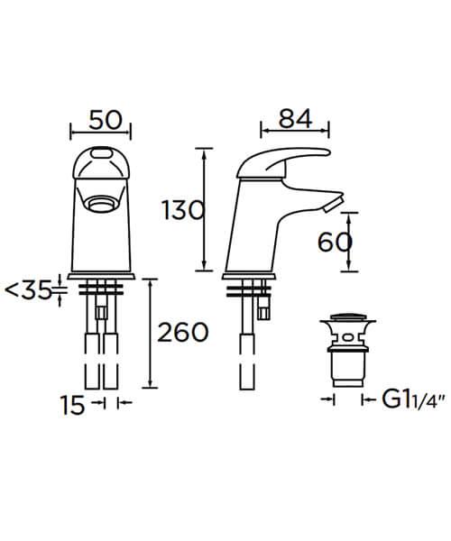 Technical drawing 1092 / J SMBAS C