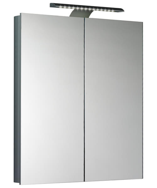 Saneux Ice 600mm Mirror Cabinet With LED Light